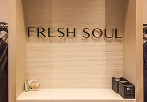 aurora fresh soul retail fitout. Black Bedroom Furniture Sets. Home Design Ideas