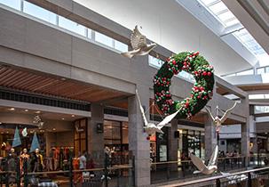 shopping mall stonini wall panels